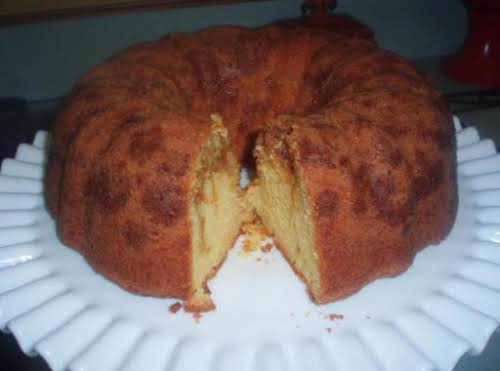 """Click Here for Recipe: Easy Butterscotch Pound Cake """"I have made this..."""