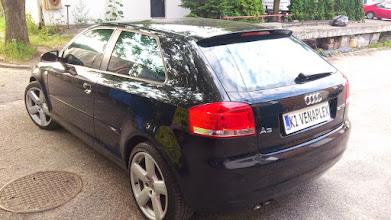 Photo: Audi a3 SLine przyciemnianie szyb kraków , przyciemnianie szyb samochodowych kraków, foliowanie oklejanie szyb kraków folie okienne i samochodowe małopolska kraków