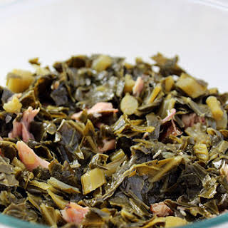 Pressure Cooker Collard Greens - Southern-Style in ONE HOUR!.
