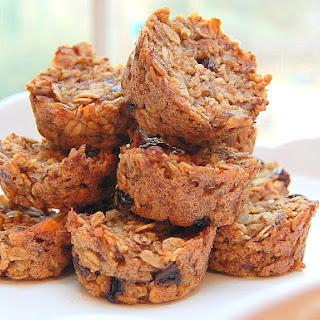 Quinoa, Apricot, and Oat Muffin Clusters [Vegan, Gluten-Free]