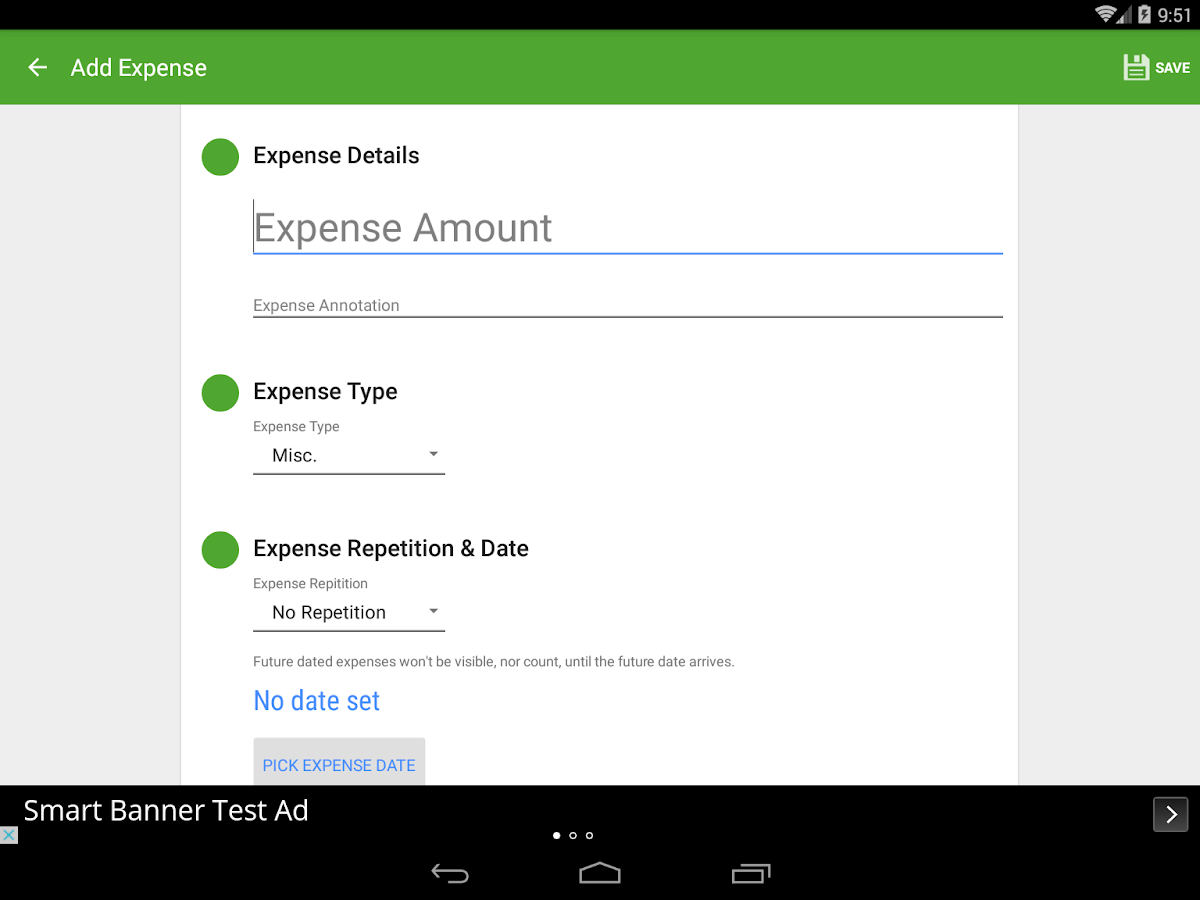 Saving Made Simple - Money App - screenshot