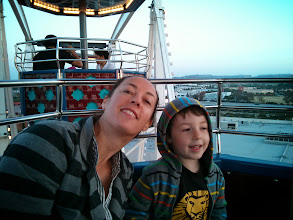 Photo: Clark and Mommy Giant Wheel