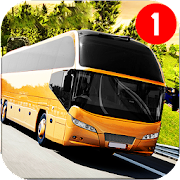 bus simulator : coach hill driving game 2019