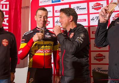 Mario De Clercq ziet wereldtitel in het verschiet liggen voor Laurens Sweeck