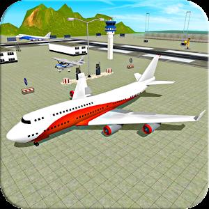Fly Jet Airplane - Real Pro Pilot Flight Sim 3D