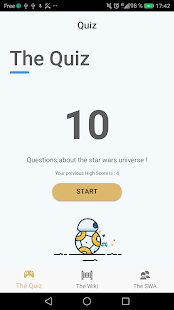 SWAaag, The STAR WARS Awesome Application Game - náhled
