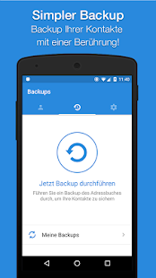 Easy Backup - Kontakte Backup Screenshot