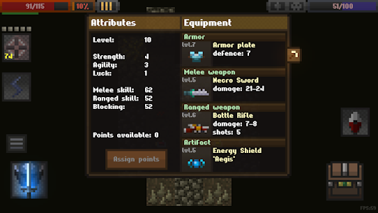 Caves (Roguelike) Mod Apk Download For Android and Iphone 7