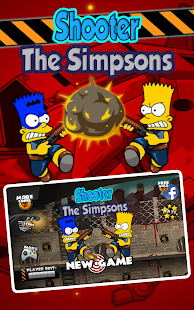 Shooter Simpson Land - náhled
