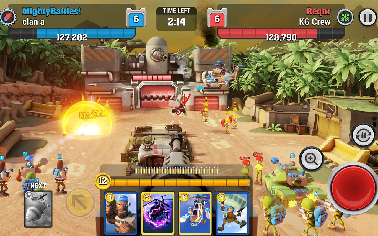 Mighty Battles- screenshot