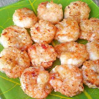 Crispy Lemon Butter Shrimp