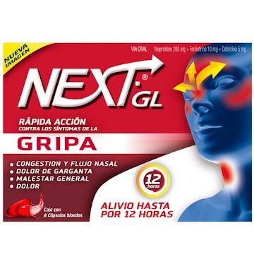 Ibuprofeno Next Gripa 8 Cápsulas