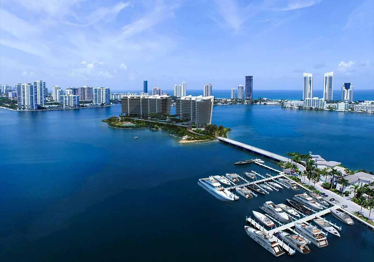 Prive Island Estates Condo Sales & Rentals   Aventura Condos