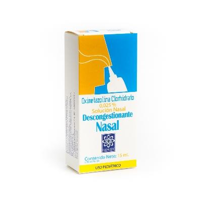 Oximetazolina Gencer 0,025% Gotas Nasales x 15 ml