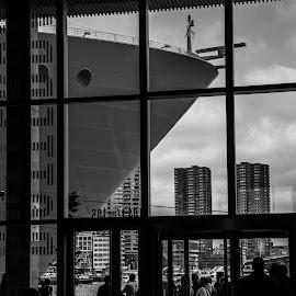 Rotterdam cityport by Ton Hoelaars - City,  Street & Park  Skylines ( harbour, rotterdam, harmony of the seas )