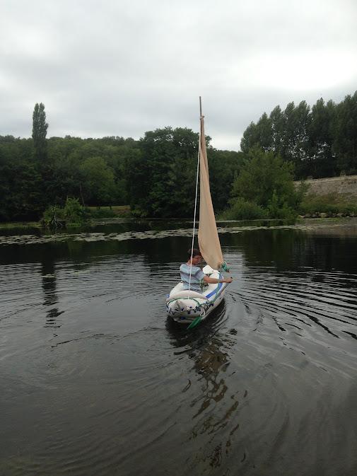 Sailing! Finally!