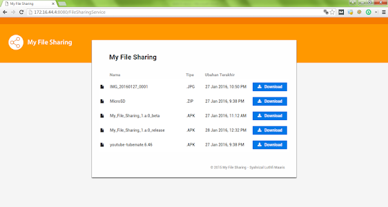 My File Sharing screenshot 3