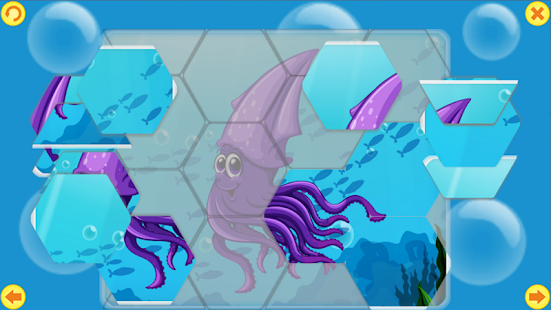 Пазлы: Обитатели моря! - náhled