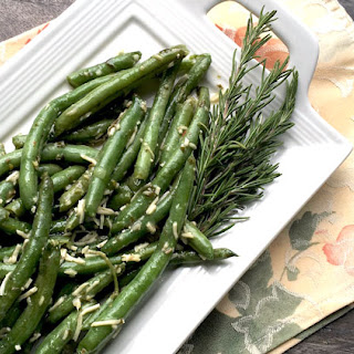 Parmesan Green Beans Recipe – Thanksgiving Side Dishes.