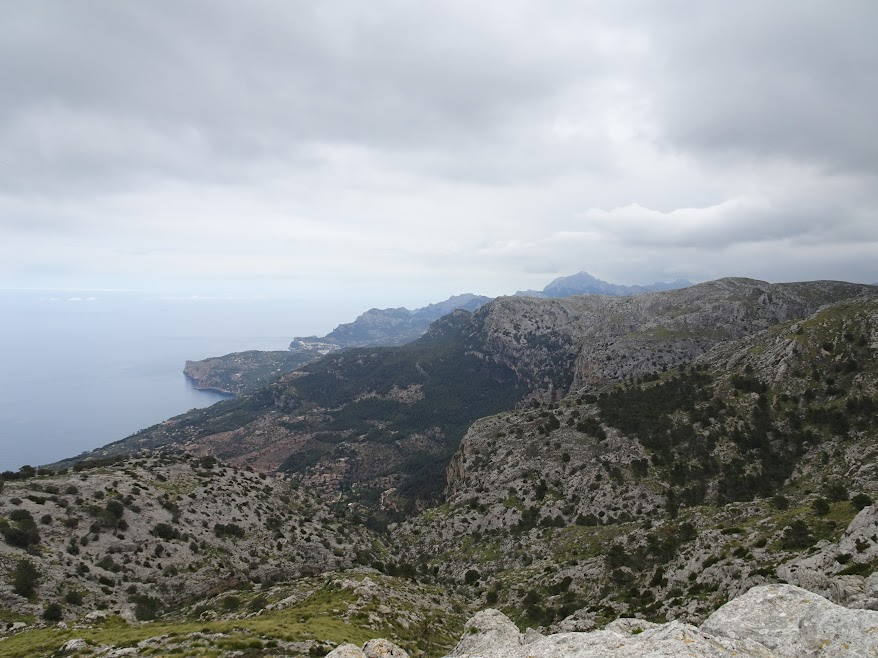 Just follow the Serra the Tramuntana north towards Pollenca, simple as that!
