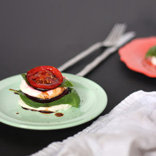 Mozzarella Beet Stacks
