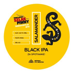 Logo of Salamander Black IPA