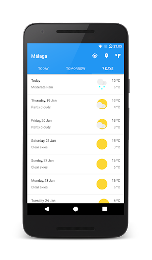 Meteo 2.0.8 screenshots 4