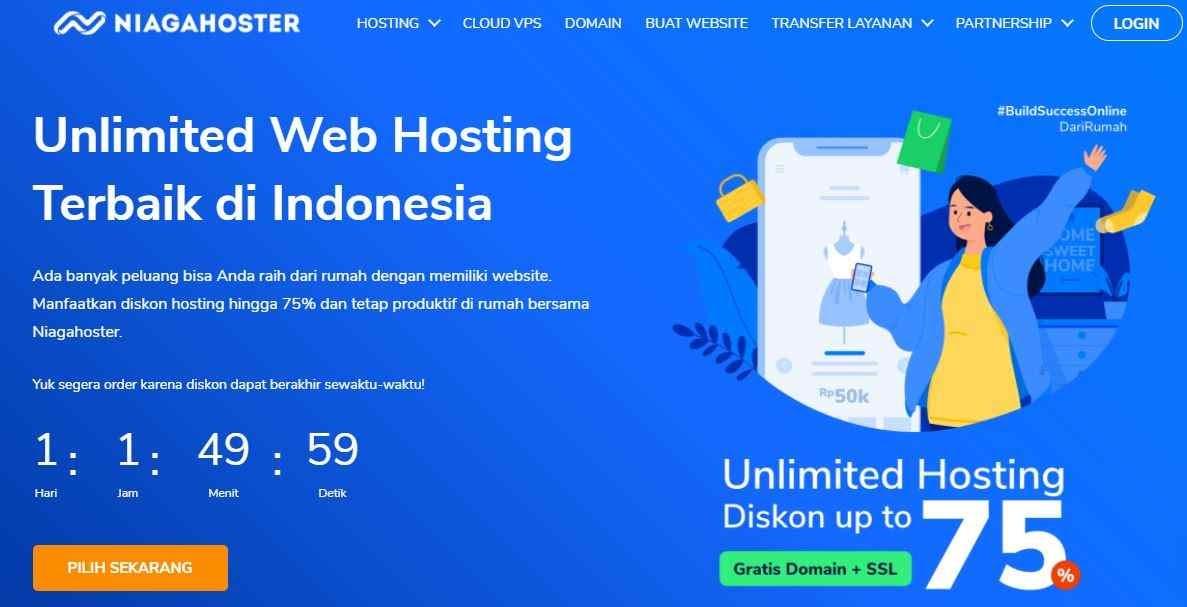 Nama Provider Hosting Terpercaya Indonesia Niagahoster
