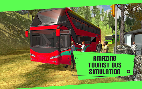 Modern Bus : Tourist Coach Transport Simulation 3D - náhled