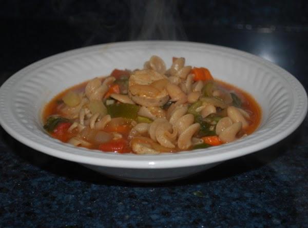 Tuscan White Bean And Sausage Soup Recipe