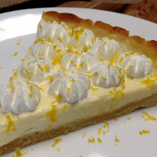 Keto Lemon Mascarpone Tart Recipe