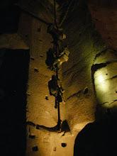 Photo: kiedyś tak się schodziło do kopalni