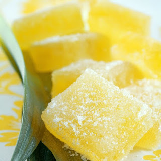 Pineapple Pate de Fruit