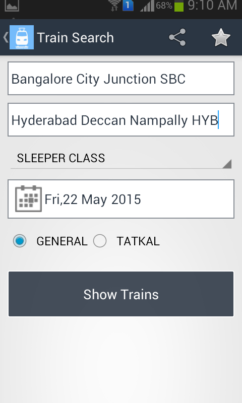 Irctc Train Wl Pnr Prediction Android Apps On Google Play