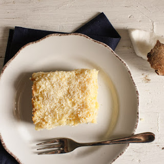 Easy Pineapple Coconut Squares.