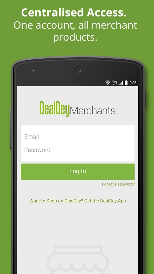 DealDey Merchants- screenshot