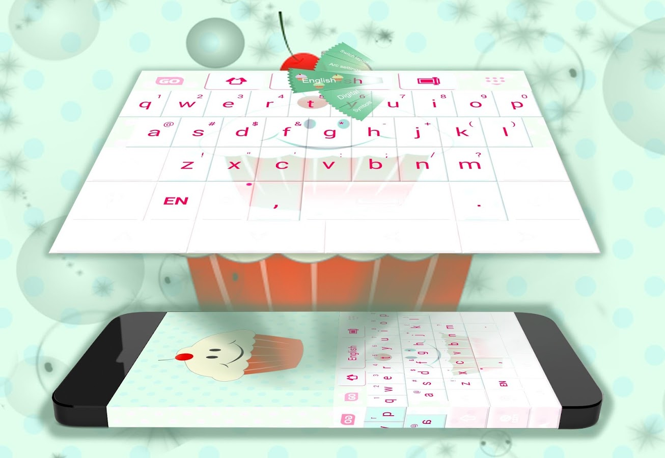 Cupcakes Keyboard Lucu Apl Android Di Google Play