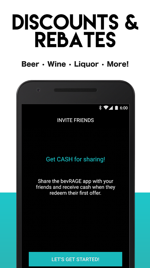 bevRAGE - Cash Back on Alcohol- screenshot