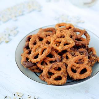 Crunchy Caramel-Covered Pretzels