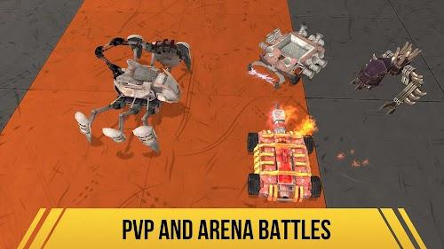 Screenshot 1 Robot Fighting 2 - Minibots 3D 2.3.11 APK MOD