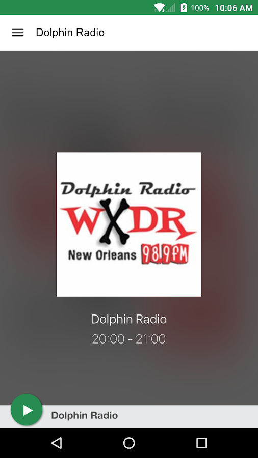Dolphin Radio- screenshot