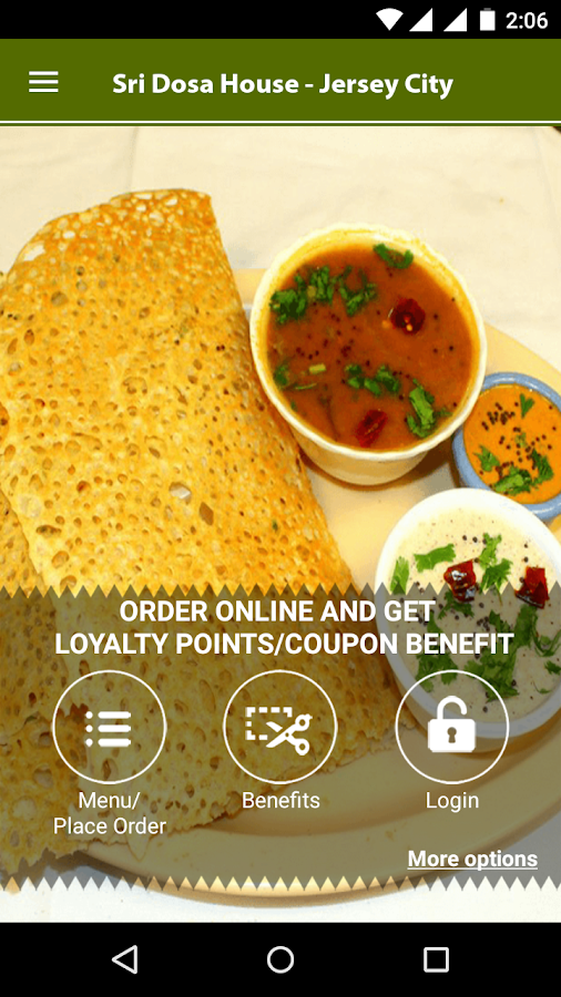 Ganesh Dosa House Jersey City- screenshot