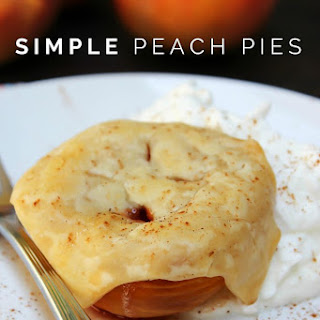 Simple Peach Pies
