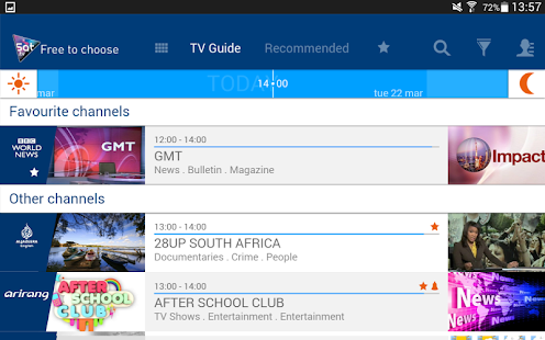 Eutelsat Free-to-air TV guide- screenshot thumbnail