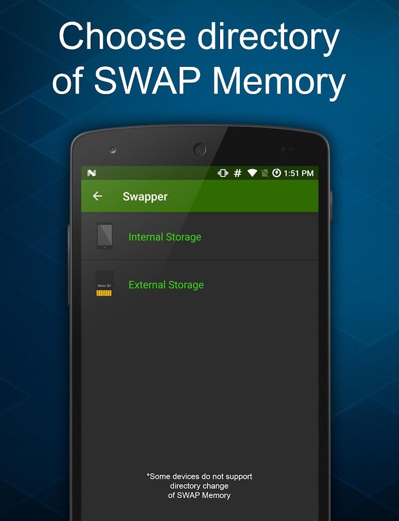 Swapper - Create SWAP Memory Screenshot 2