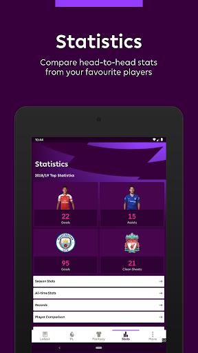 Premier League - Official App 2.2.6.1497 screenshots 9