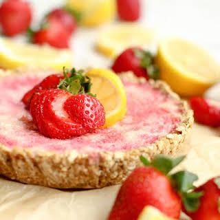 Strawberry Lemonade Pie.