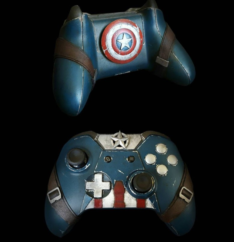 xbox one controller captain america