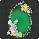 Easter Greeting Cards Editor mobile app icon