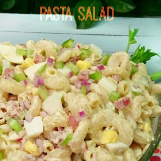 Bacon Mayonnaise Pasta Salad Recipes.